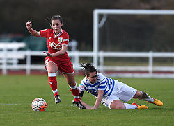 Georgia Evans of Bristol City Women - Mandatory by-line: Paul Knight/JMP - Mobile: 07966 386802 - 14/02/2016 -  FOOTBALL - Stoke Gifford Stadium - Bristol, England -  Bristol Academy Women v QPR Ladies - FA Cup third round