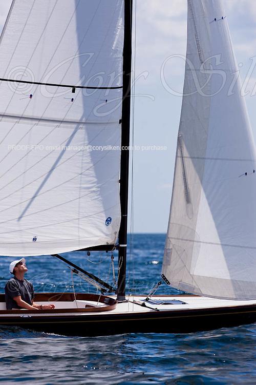 Dream sailing in the Corinthian Classic Yacht Regatta.