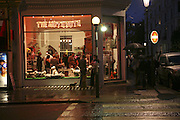 Exterior of Mutz Nutz. Opening of The Mutz Nutz; Westbourne Park Rd. London. 23 August 2006.  ONE TIME USE ONLY - DO NOT ARCHIVE  © Copyright Photograph by Dafydd Jones 66 Stockwell Park Rd. London SW9 0DA Tel 020 7733 0108 www.dafjones.com
