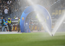 October 2, 2018 - Rome, Italy - during the UEFA Champions League match group G between AS Roma and Viktoria Plzen at the Olympic stadium on october 02, 2018 in Rome, Italy. (Credit Image: © Silvia Lore/NurPhoto/ZUMA Press)