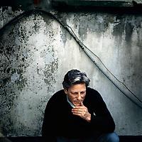 Belgie. Antwerpen. 26-9-2000.<br /> Portret van Jan Fabre, kunstenaar.