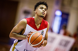 Begue  Maximilian of Germany during basketball match between National teams of Germany and Montenegro in the 11th place Classifications of FIBA U18 European Championship 2019, on August 4, 2019 in Portaria Hall, Volos, Greece. Photo by Vid Ponikvar / Sportida