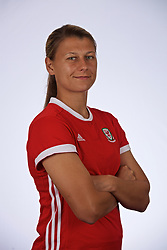 SLOUGH, ENGLAND - Monday, August 26, 2019: Wales' Emma Jones. (Pic by David Rawcliffe/Propaganda)