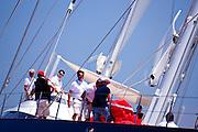 Mondango sailing in the Dubois Cup regatta, day 1.