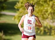 September 24, 2011: The Oklahoma Christian University Eagles women's cross country team participates in the OCU Fall Classic at the Oklahoma Publishing Company in Oklahoma City, OK.