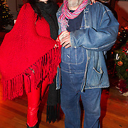 NLD/Hilversum/20151207- Sky Radio's Christmas Tree for Charity, Henk Schiffmacher partner louise