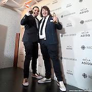 2Frères - Nous autres, Album de l'année – pop - Gala de l'ADISQ 2016, remise des trophées Felix aux gagnants -  Place des Arts / Montreal / Canada / 2016-10-30, © Photo Marc Gibert / adecom.ca