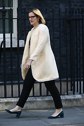 © Licensed to London News Pictures. 13/06/2017. London, UK. Amber Rudd arrives at Downing Street for the second cabinet meeting in two days ahead of todays visit by DUP leader Arlene Foster. Photo credit: Andrew McCaren/LNP