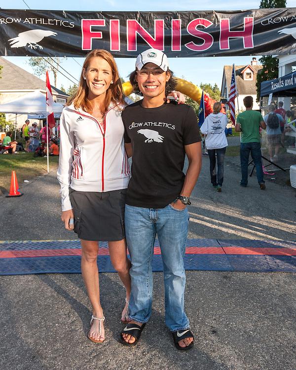 Great Cranberry Island Ultra 50K road race: Lindsay and Jason