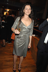 TAMASIN DAY-LEWIS at the Orion Authors Party held at the Royal Opera House, Covent Garden, London on 11th February 2008.<br />