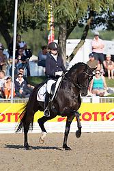 Van der Putten Marieke (NED) - Boston STH<br /> FEI World Breeding Dressage Championships for Young Horses 2012<br /> © Hippo Foto - Leanjo de Koster