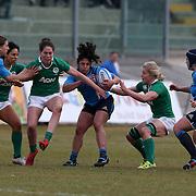L'Aquila 12/02/2017 Stadio Fattori<br /> RBS 6 nations women 2017<br /> Italia vs Irlanda<br /> Lucia Cammarano