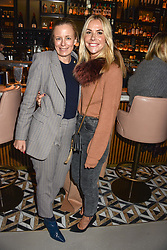 21 November 2019 - Astrid Harbord and Louisa Preskett at the launch of Sam's Riverside Restaurant, 1 Crisp Walk, Hammersmith hosted by owner Sam Harrison, Edward Taylor and Jack Brooksbank.<br /> <br /> Photo by Dominic O'Neill/Desmond O'Neill Features Ltd.  +44(0)1306 731608  www.donfeatures.com