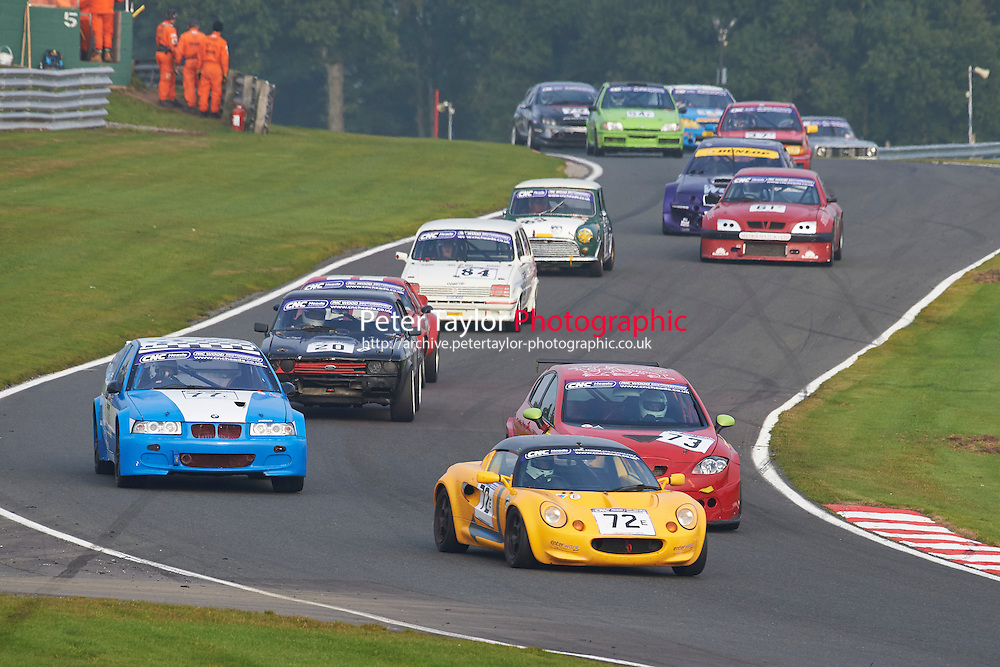 #72 Graeme LASLETT Lotus Elise during CNC Heads Sports/Saloon Championship - Race 2  as part of the BARC Championships Race Day at Oulton Park, Little Budworth, Cheshire, United Kingdom. October 03 2015. World Copyright Taylor/PSP. Copy of publication required for printed pictures.  Every used picture is fee-liable. http://archive.petertaylor-photographic.co.uk