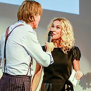 NLD/Amsterdam/20131014 -  Marie Claire Starters Award 2013, Jort kelder en Claudia Straatmans