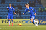 Gillingham midfielder Josh Wright(c) (44) during the EFL Sky Bet League 1 match between Gillingham and Northampton Town at the MEMS Priestfield Stadium, Gillingham, England on 12 November 2016. Photo by Martin Cole.