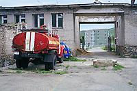 Mongolie, Oulan Bator, banlieue de Nairamdal // Mongolia, Ulan Bator, Nairamdal suburb