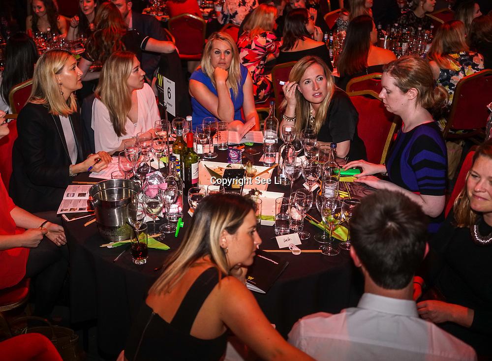 London,England,UK. 11th May 2017. Women's Sport Trust, the leading women's sports charity, hosts the Women's Sport Trust Awards - #BeAGameChanger Awards 2017 at The Troxy,london, UK. by See Li