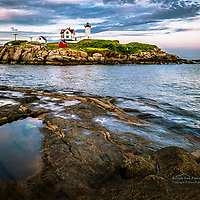 The Nubble Lighthouse, York, ME.<br />