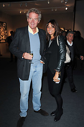 Private View of the Pavilion of Art & Design London 2010 held in Berkeley Square, London on 11th October 2010.<br /> Picture Shows:- COUNT LEOPOLD & COUNTESS DEBONAIRE VON BISMARCK