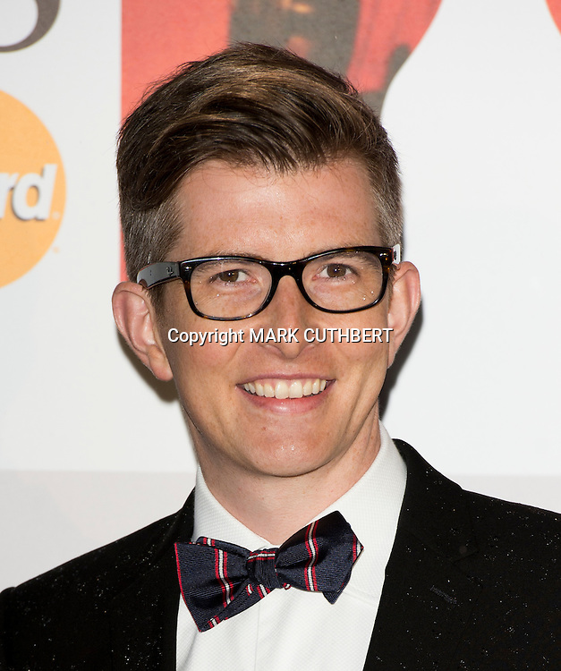 Gareth Malone arriving at the 2012 Classic Brit Awards at the Royal Albert Hall in London.