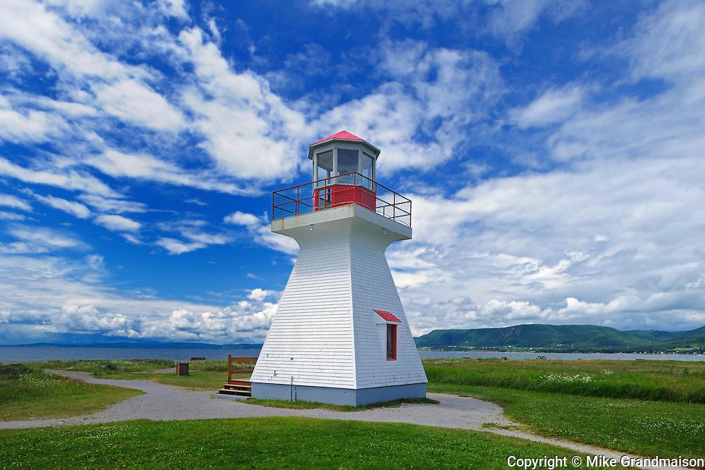 Point Bonaventure Lighthouse<br /> Bonaventure<br /> Quebec<br /> Canada