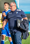 Gillingham FC  manager Steve Evans after the EFL Sky Bet League 1 match between Gillingham and Wycombe Wanderers at the MEMS Priestfield Stadium, Gillingham, England on 14 September 2019.