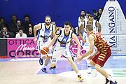 DESCRIZIONE : TRAPANI Lega A 2015-16 Betaland Capo d Orlando Umana Venezia  <br /> GIOCATORE :  Vlado Ilievski<br /> CATEGORIA :  Palleggio Contropiede<br /> SQUADRA : Betaland Orlandina Basket <br /> EVENTO : Campionato Lega A 2015-2016 <br /> GARA : Betaland Orlandina UPEA Basket Umana Venezia <br /> DATA : 24/01/2016<br /> SPORT : Pallacanestro <br /> AUTORE : Agenzia Ciamillo-Castoria/G. Pappalardo <br /> Galleria : Lega Basket A 2015-2016 <br /> Fotonotizia : Capo dOrlando Lega A 2015-16 Betaland Capo d Orlando Umana Venezia
