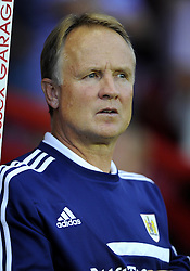 Bristol City Head coach, Sean O'Driscoll  - Photo mandatory by-line: Joe Meredith/JMP - Tel: Mobile: 07966 386802 04/09/2013 - SPORT - FOOTBALL -  Ashton Gate - Bristol - Bristol City V Bristol Rovers - Johnstone Paint Trophy - First Round - Bristol Derby