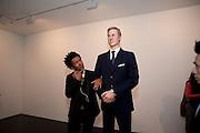 PRINCE WILLIAM WAXWORK, 'Engagement' exhibition of work by Jennifer Rubell. Stephen Friedman Gallery. London. 7 February 2011. -DO NOT ARCHIVE-© Copyright Photograph by Dafydd Jones. 248 Clapham Rd. London SW9 0PZ. Tel 0207 820 0771. www.dafjones.com.