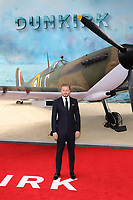 Jack Lowden, Dunkirk - World film premiere, Leicester Square Gardens, London UK, 13 July 2017, Allied soldiers from Belgium, the British Empire, Canada, and France are surrounded by the German army and evacuated during a fierce battle in World War II.