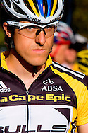 Oak Valley ( Elgin / Grabouw ), SOUTH AFRICA - Stefan Sahm during the final stage stage seven , 7 , of the Absa Cape Epic Mountain Bike Stage Race between Oak Valley ( Elgin / Grabouw ) and Lourensford on the 28 March 2009 in the Western Cape, South Africa..Photo by Karin Schermbrucker  /SPORTZPICS
