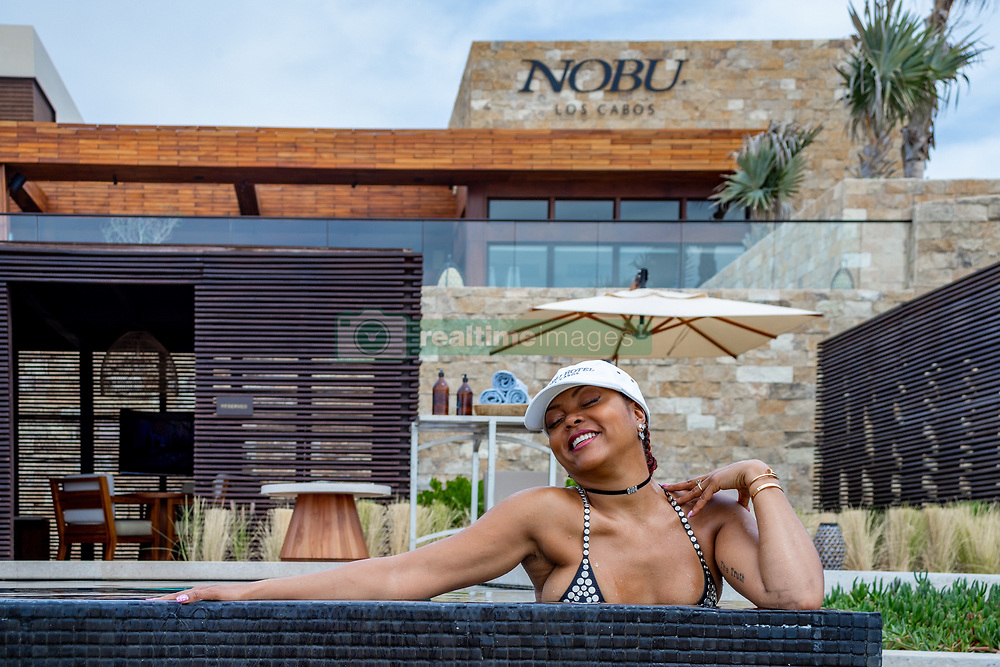 Taraji P. Henson looked a complete knockout as she lived it up during a romantic Valentine's weekend with her fiancé Kelvin Hayden. The 49-year-old actress slipped into a daring black bejeweled swimsuit and enjoyed some quality time with Kelvin — who she is set to wed on April 4 — at Nobu Hotel Los Cabos. The lovebirds took a break from freezing cold Chicago where she is shooting the spin-off to her hit show Empire.  The Oscar-winning actress and retired NFL player arrived at their private ocean view suite where they were welcomed with a Nobu signature cocktail and specially prepared dessert to celebrate the Valentine's Day weekend. The couple kicked off their lovers' escape with a romantic boat tour of the famous Cabo San Lucas Arch where they dined on lobster, oysters and chocolate covered strawberries as they toasted to their upcoming nuptials. After their sunset cruise, the twoenjoyed a candlelit dinner at Nobu Restaurant where they dined on signature dishes such as Salmon tartare with caviar, Octopus Tiradito, Crispy Rice with Spicy Tuna, miso black cod and yellowtail sashimi to name a few. Taraji took to her Instagram to show off her heart shaped strawberry that she fed to her fiancé. The next day the loving couple started their morning with freshly prepared breakfast from Malibu Farm before retreating to the adults only infinity pool. The duo spent the day lounging by the pool with friends and graciously taking photos with fans. Generous Taraji even bought the whole pool a round of cocktails. In the early afternoon they headed to Esencia Spa where they took advantage of the outdoor hydrotherapy garden, experiential shower, cabana jacuzzi and hydrotherapy pool before they went in for their couple's massage and facials. Kelvin was also spotted working out of the state-of-the-art gym while Taraji was snapping pictures to commemorate her first time at Nobu Hotel Los Cabos. Nobu Restaurant pulled out all the stops for their next dinner date w
