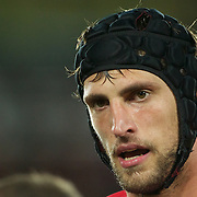 Luke Charteris, Wales, in action during the Wales V France Semi Final match at the IRB Rugby World Cup tournament, Eden Park, Auckland, New Zealand, 15th October 2011. Photo Tim Clayton...
