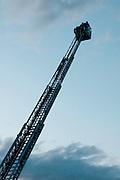 Escalera telecópica de bomberos