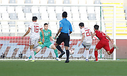2019?1?12?.   ??????1???——D?????????.    1?12??????????·????????????????? .    ??????????????2019???????D?????????2?0??????.    ????????..(SP)UAE-AL AIN-SOCCER-AFC ASIAN CUP 2019-GROUP D-VNM VS IRN..(190112) -- ABU DHABI, Jan. 12, 2019  Iran's Sardar Azmoun (2nd R) shoots and scores during the 2019 AFC Asian Cup group D match between Vietnam and Iran at the Al Nahyan Stadium in Abu Dhabi, the United Arab Emirates, Jan. 12, 2019. Iran won the match by 2-0. (Credit Image: © Xinhua via ZUMA Wire)