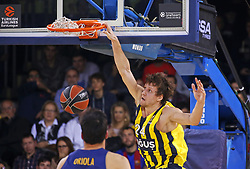 December 8, 2017 - Barcelona, Catalonia, Spain - Jan Vesely during the match between FC Barcelona v Fenerbahce corresponding to the week 11 of the basketball Euroleague, in Barcelona, on December 08, 2017. (Credit Image: © Urbanandsport/NurPhoto via ZUMA Press)