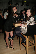 Rowena Alftratiou and Celia Weinstock, An Evening At Sanderson,  Sanderson Hotel, 50 Berners Street, London, W1, Charity reception now in its seventh year raising money for CLIC Sargent.15 May 2007. -DO NOT ARCHIVE-© Copyright Photograph by Dafydd Jones. 248 Clapham Rd. London SW9 0PZ. Tel 0207 820 0771. www.dafjones.com.