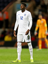 Dominic Iorfa of England U21  - Mandatory byline: Matt McNulty/JMP - 07966386802 - 03/09/2015 - FOOTBALL - Deepdale Stadium -Preston,England - England U21 v USA U23 - U21 International