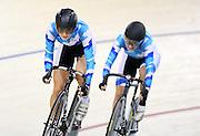 Auckland's Nina Wollaston the BikeNZ Elite & U19 Track National Championships, Avantidrome, Home of Cycling, Cambridge, New Zealand, Sunday, March 16, 2014. Credit: Dianne Manson