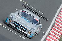 #22 David Jones/Godfrey Jones - Preci - Spark, Mercedes AMG GT3, AM/AM during second practice for the Avon Tyers British GT Championship as part of the British GT Championship at Oulton Park, Little Budworth, Cheshire, United Kingdom. April 04 2015. World Copyright Peter Taylor/PSP. Copy of publication required for printed pictures.  Every used picture is fee-liable.http://archive.petertaylor-photographic.co.uk