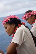 Taia and Munokoa Marsters, Marsters Family, Palmerston Atoll, Cook Islands, Polynesia