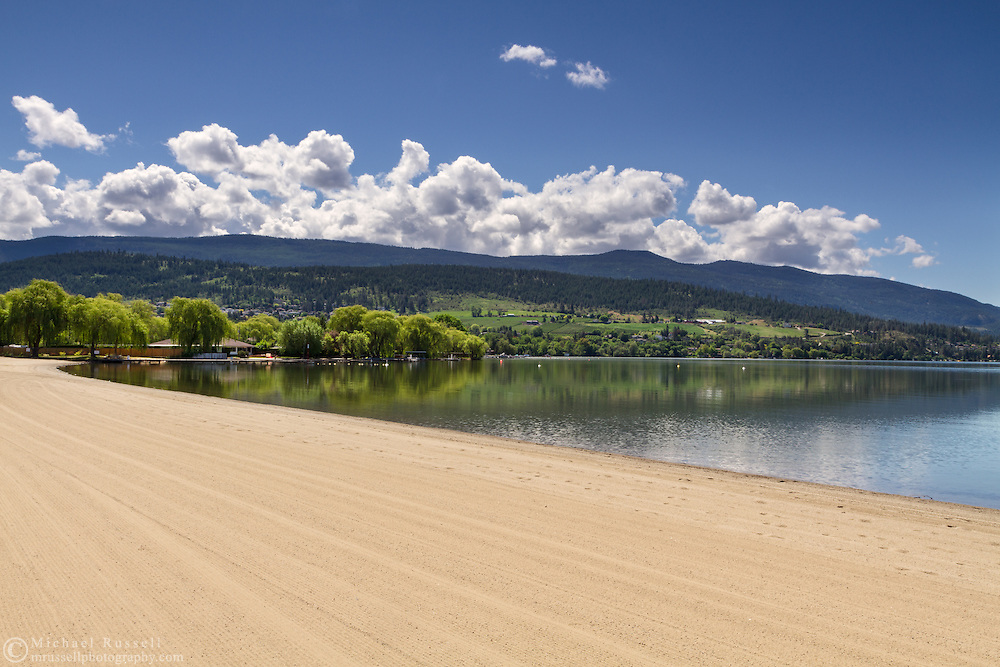 Kal Beach on Kalamalka Lake in Vernon, British Columbia, Canada
