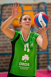 26-10-2019 NED: Dros Alterno - Set Up 65, Apeldoorn<br /> Round 4 of Eredivisie volleyball - Moniek Jansen #11 of Alterno