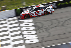 June 1, 2018 - Long Pond, Pennsylvania, United States of America - Brad Keselowski (2) brings his car down the frontstretch during qualifying for the Pocono 400 at Pocono Raceway in Long Pond, Pennsylvania. (Credit Image: © Chris Owens Asp Inc/ASP via ZUMA Wire)