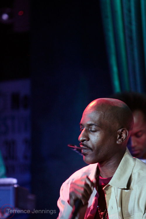 22 June-New York, NY- Rakim performs at the Mo' Meta Blues II Paid in Full 25th Anniversary with Rakim, Black Thought & The Roots Produced by Jill Newman Productions as part of the Blue Note Jazz Festival and held at the Blue Note on June 22, 2011 in New York City. Photo Credit: Terrence Jennings