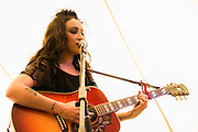 Lindi Ortega performing at the Heartbreaker Banquet 2015, Austin, Texas, March 18, 2015.  The Heartbreaker Banquet was presented by Electric Lady Studios and Robot Fondue and held at Willie Nelson's Luck, Texas western town.