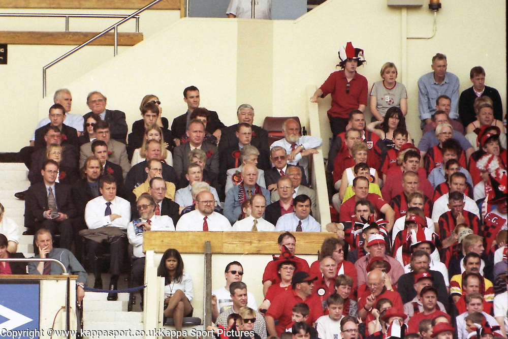 Kettering Town, VPs, Vice Presidents, Kettering Town Fans  at Wembley, Action Game, Kettering Town v Kingstonia, FA Trophy Final, Wembley Stadium, Saturday 13th May 2000