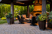 Private Residence outdoor space designed by Big Sky Landscaping.
