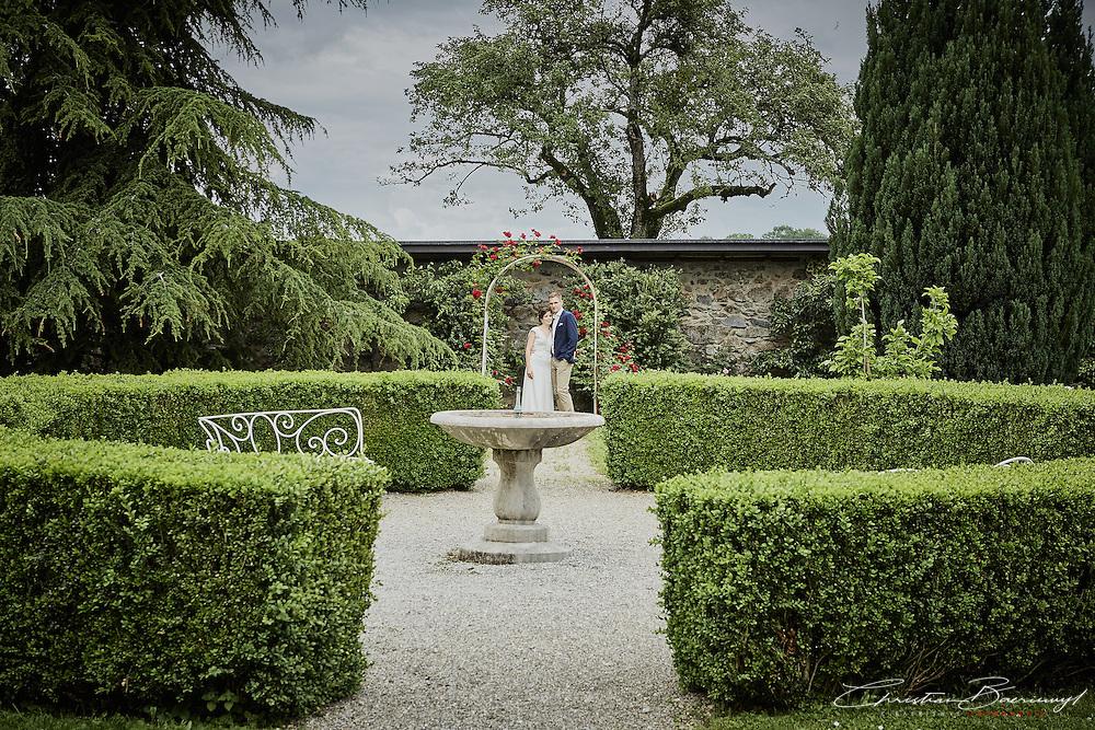 Hochzeit von Ilona und Sven im Schloss Grand Riedera in Le Mouret. Juni 2016.
